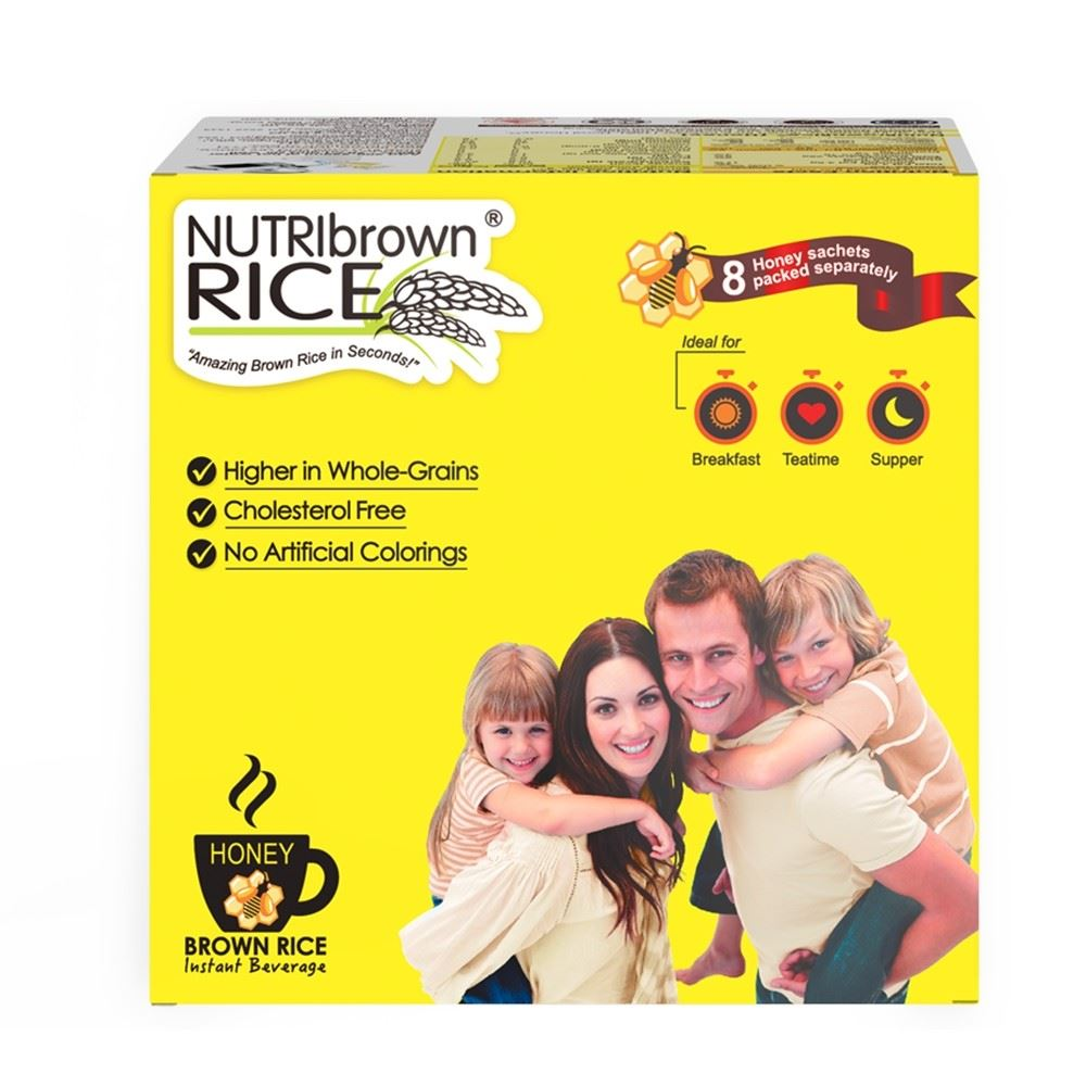 NutriBrownRice Instant Beverage in Honey Flavor