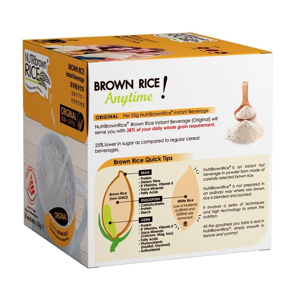 NutriBrownRice Original Flavor Instant Cereal Drink