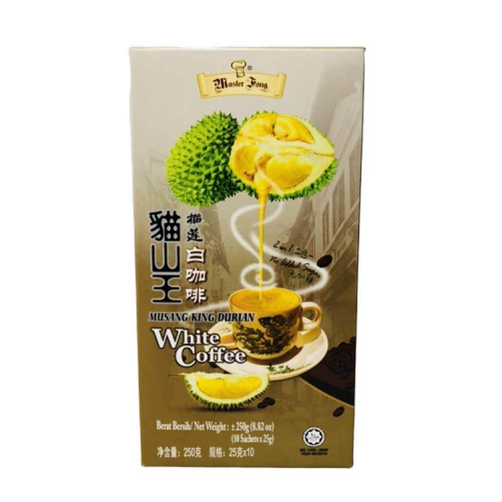 Musang King Durian White Coffee 2 in 1