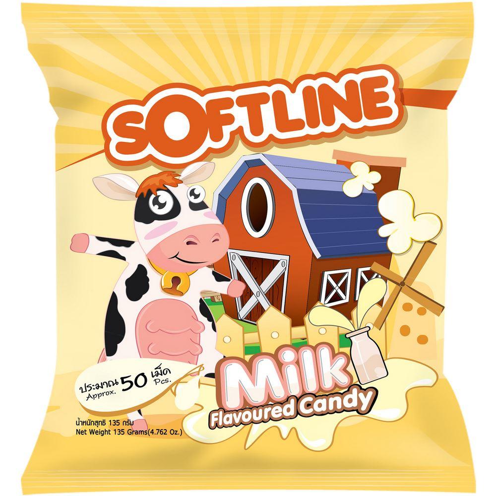 Softline Milk Flavoured Candy
