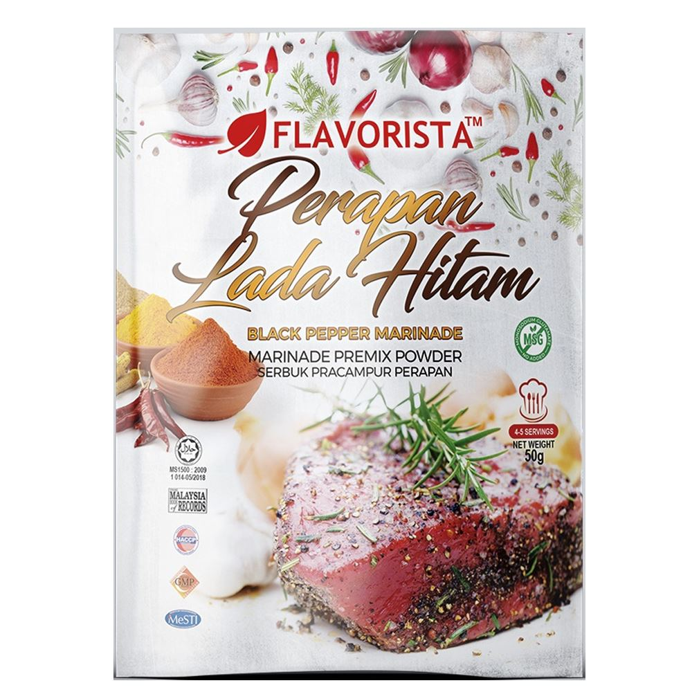 Blackpepper Marination Powder Premix Flavorista