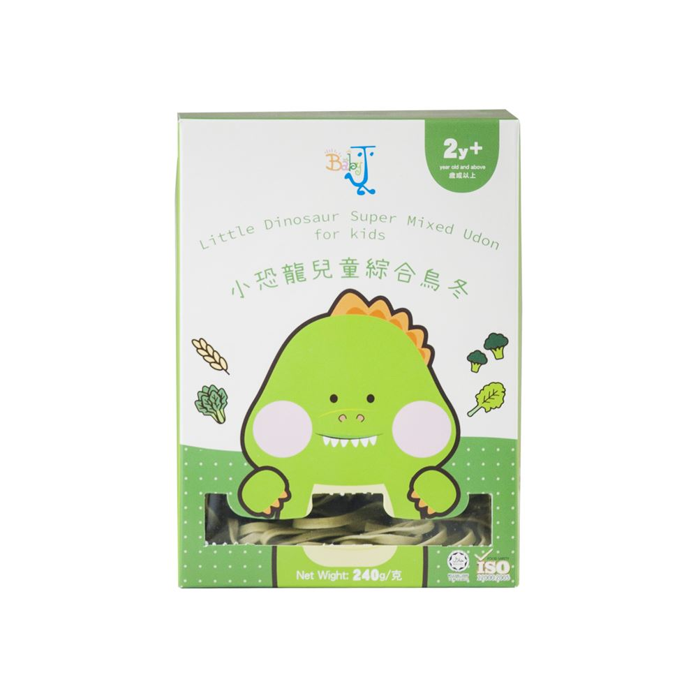 BabyJ Little Dinosaur Super Mixed Udon for kids