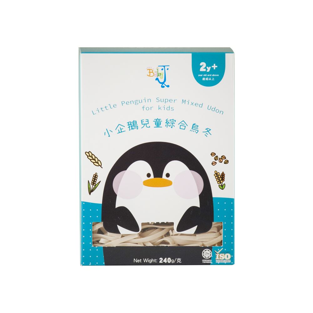 BabyJ Little Penguin Super Mixed Udon for kids