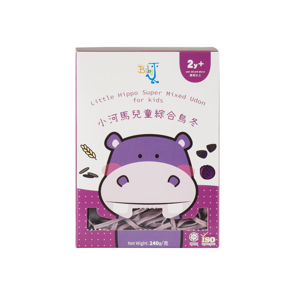 BabyJ Little Hippo Super Mixed Udon for kids