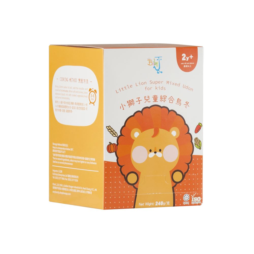 BabyJ Little Lion Super Mixed Udon for kids