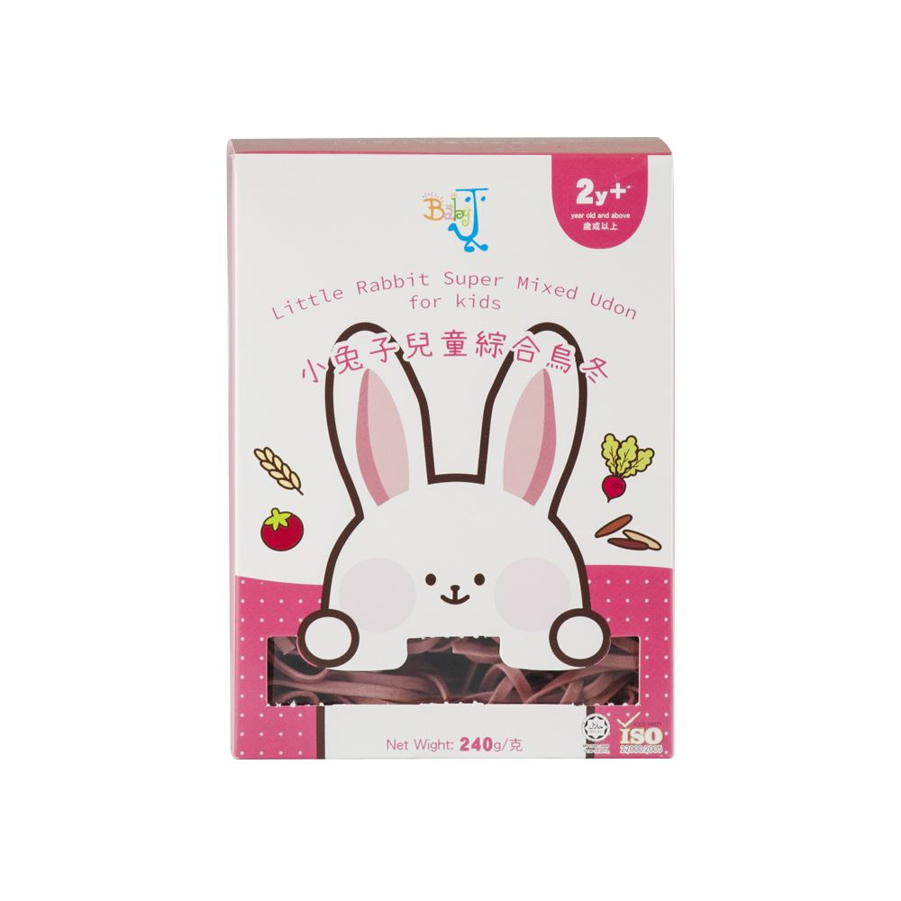 BabyJ Little Rabbit Super Mixed Udon for kids