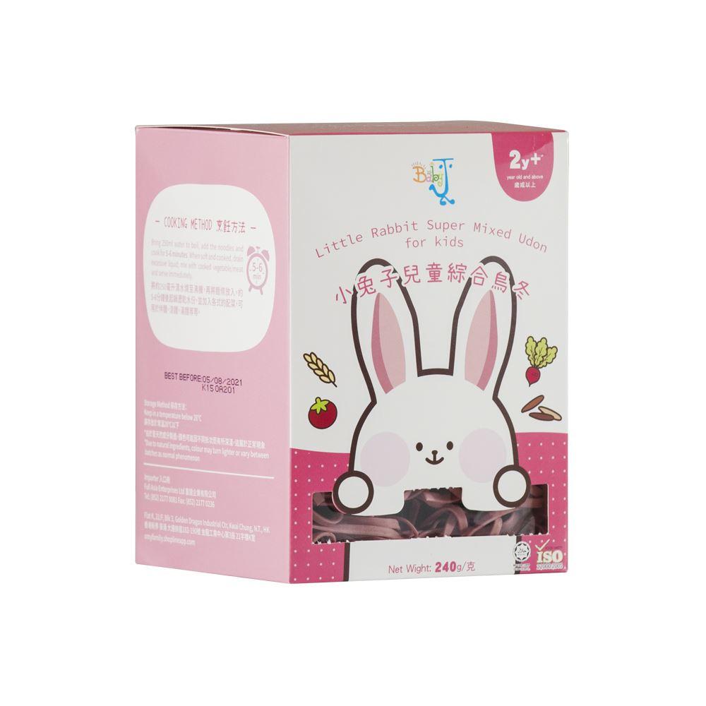 BabyJ Little Rabbit Super Mixed Udon for kids