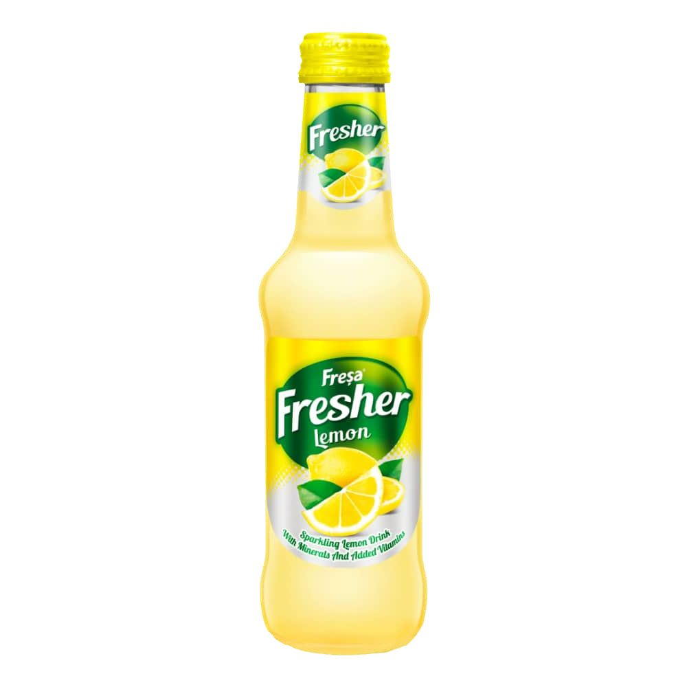 Fresa Fresher Lemon Carbonated Mineral Water