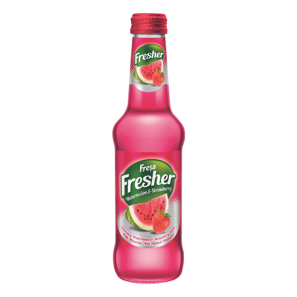 Fresa Fresher Watermelon & Strawberry Carbonated Mineral Water