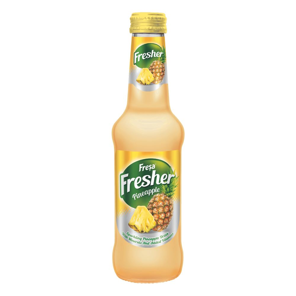 Fresa Fresher Pineapple Carbonated Mineral Water