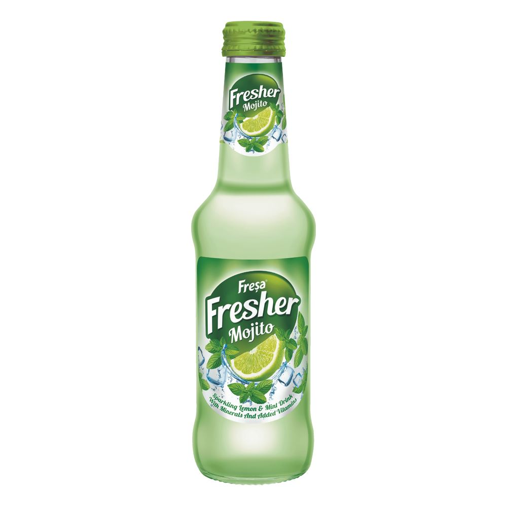 Fresa Fresher Lemon Mint Carbonated Mineral Water