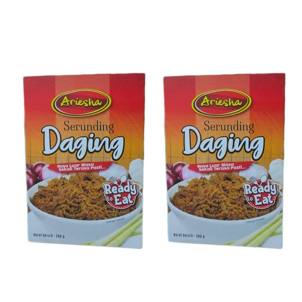 Serunding Daging Ariesha Meat floss