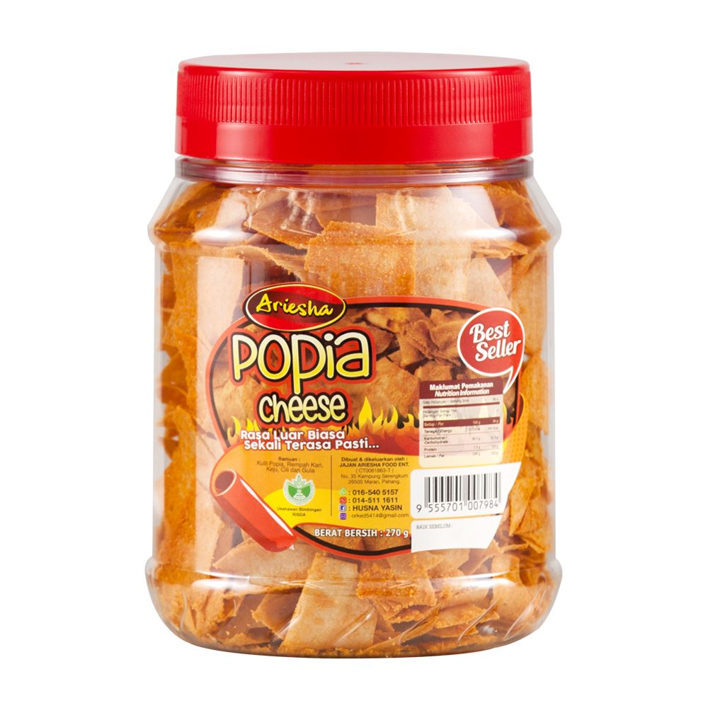 Popia Cheese 270g