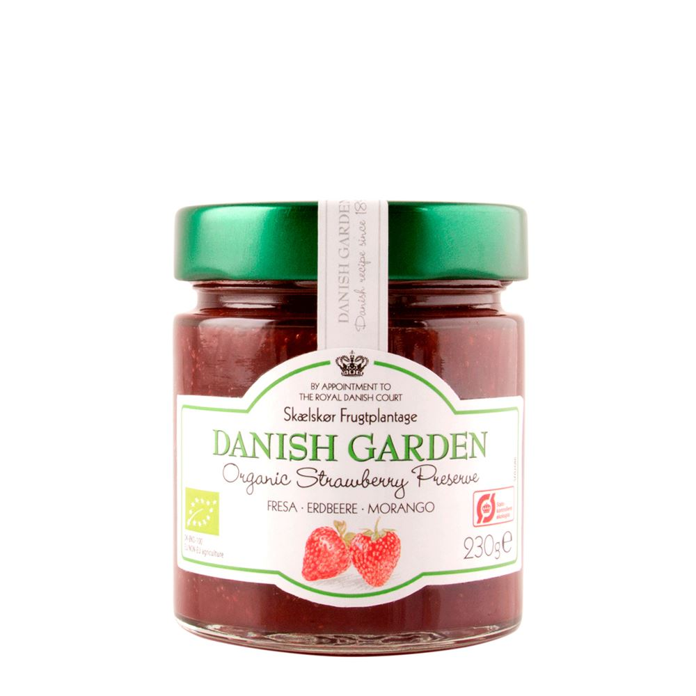Danish Garden (Organic) Strawberry Preserve