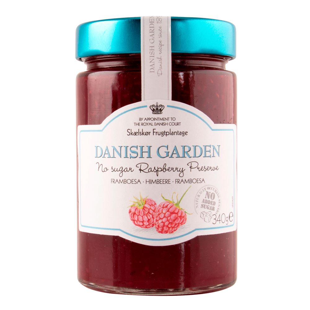 Danish Garden (No Sugar Added) Raspberry Preserve