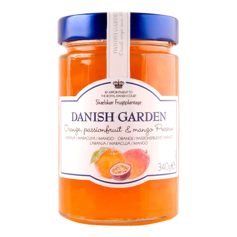 Danish Garden (Classic) Orange, Passion Fruit & Mango Preserve