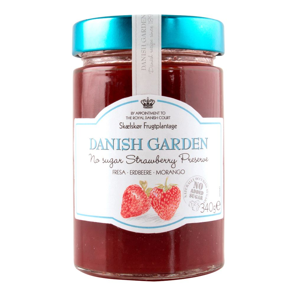 Danish Garden (No Sugar Added) Strawberry Preserve