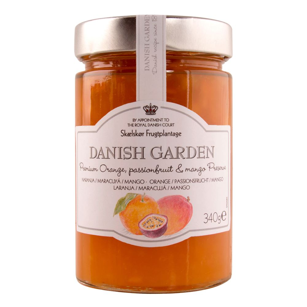 Danish Garden (Premium) Orange, Passion Fruit & Mango Preserve