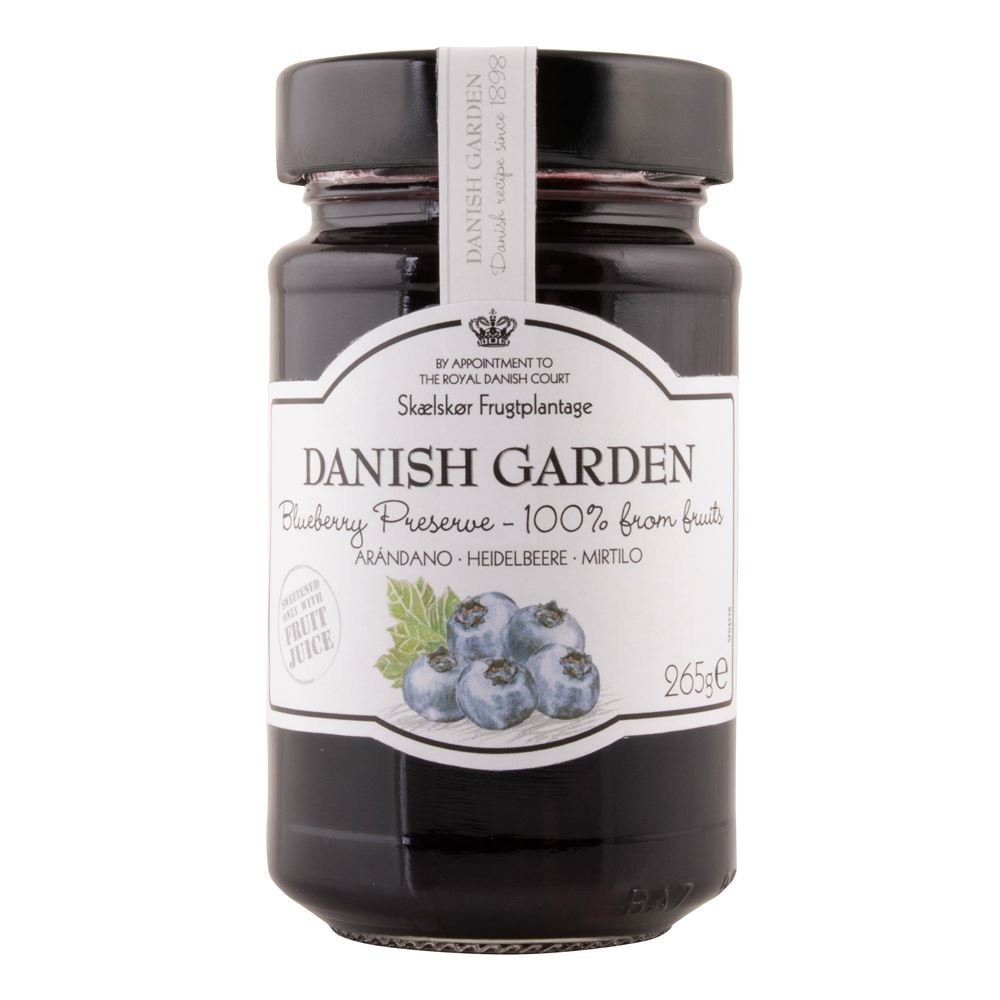 Danish Garden (100%) Blueberry Preserve