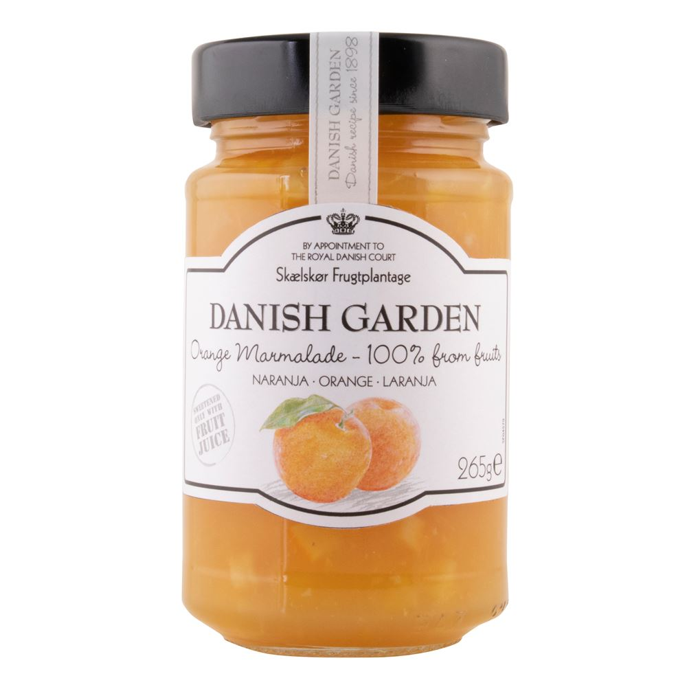 Danish Garden (100%) Orange Marmalade Preserve
