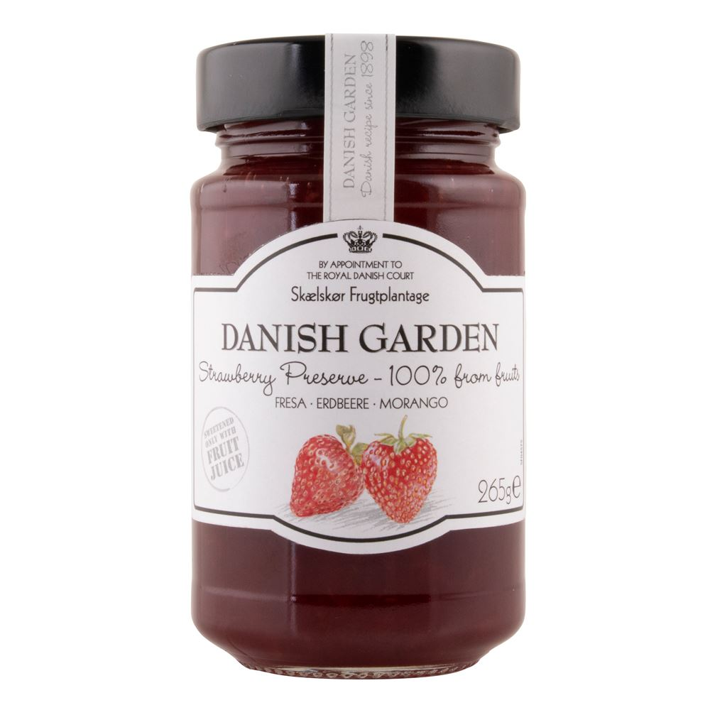 Danish Garden (100%) Strawberry Preserve