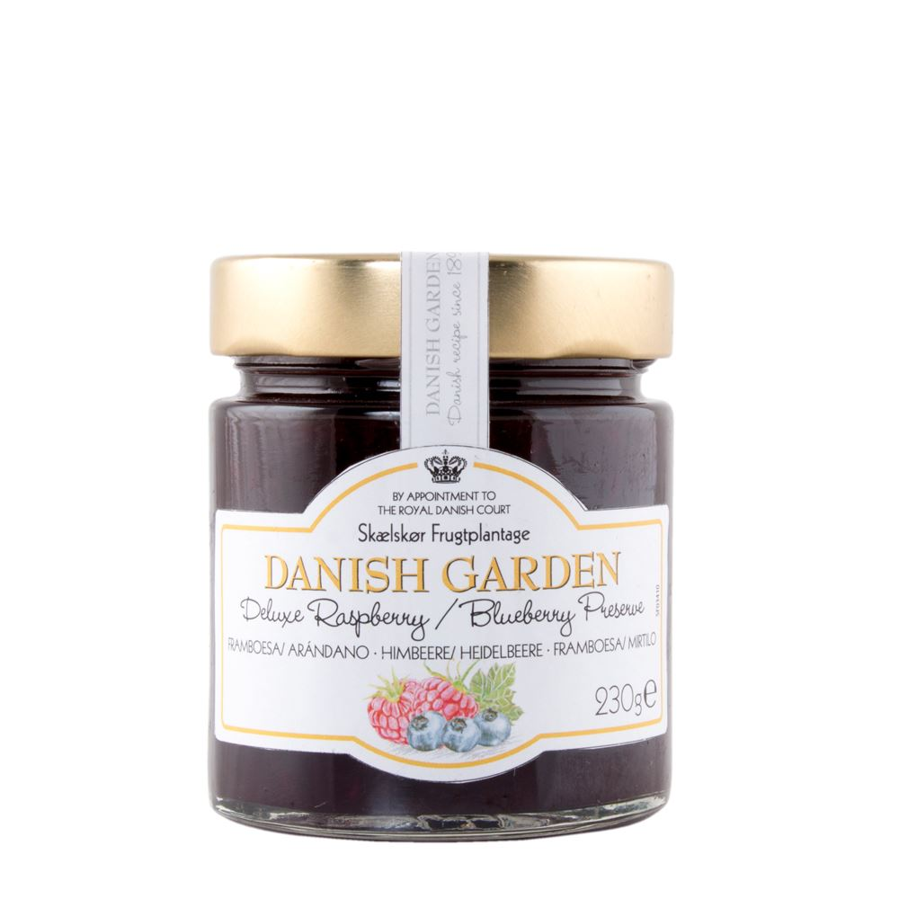 Danish Garden (Deluxe) Raspberry/Blueberry Preserve