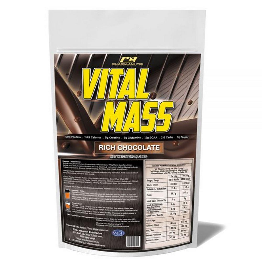 Vital Mass – 1kg/2.2lbs