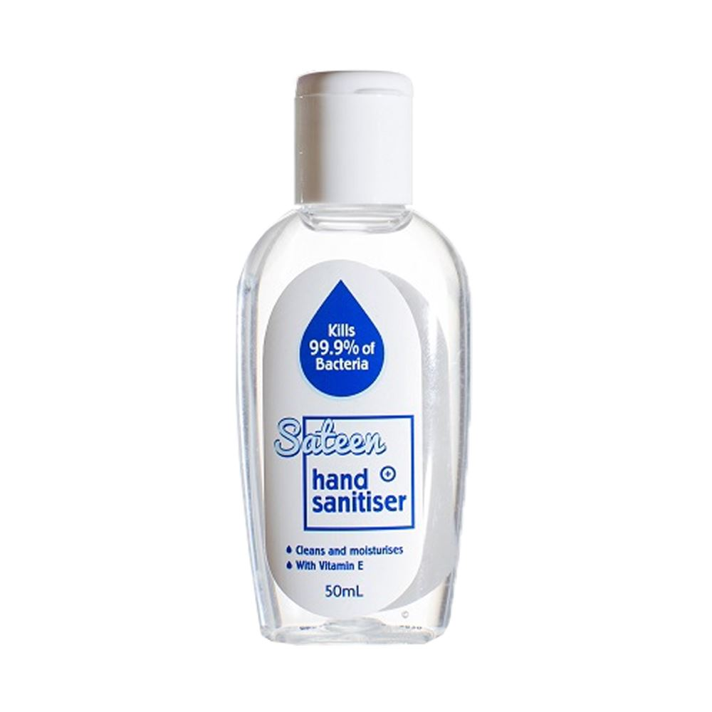 Sateen Hand Sanitiser 50ml