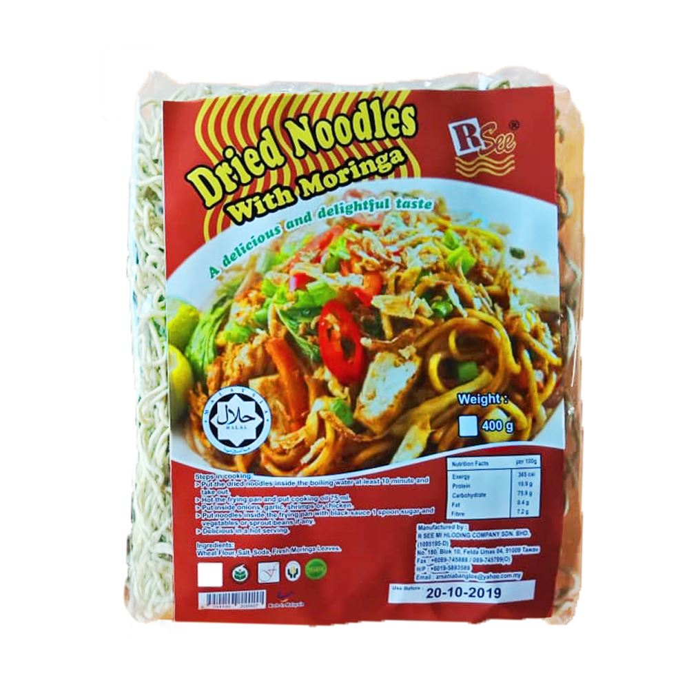 Dried Noodles With Moringa