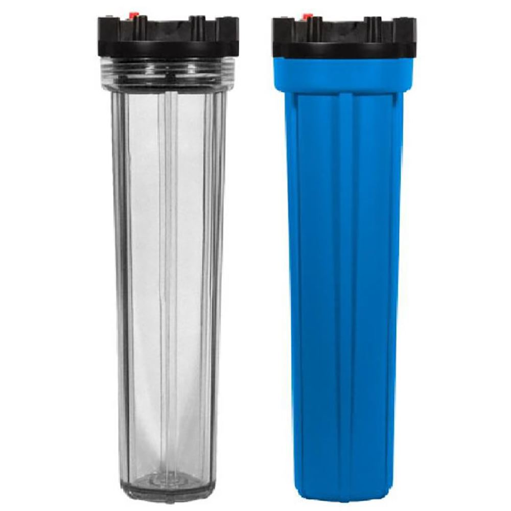 SYSFLO CB Series Single Cartridge Plastic Filter Housing