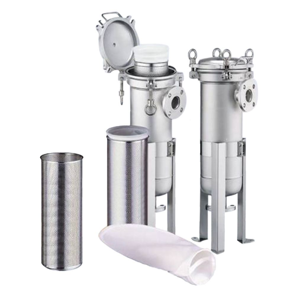 SYSFLO PH Series Single Bag Stainless Steel Filter Housing