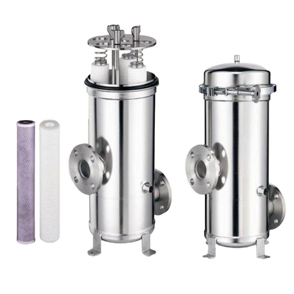 SYSFLO SC Series Multi-Cartridge Stainless Steel Filter Housing