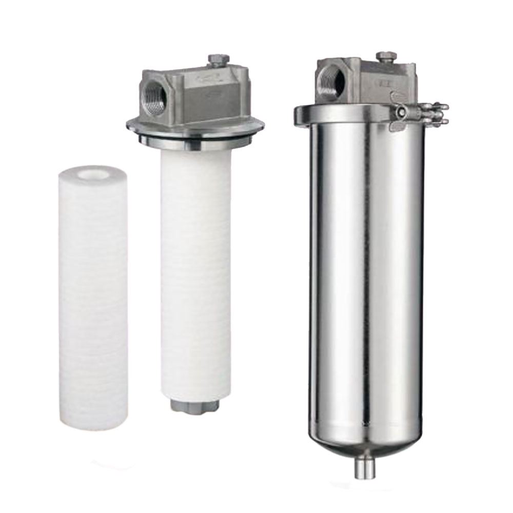 SYSFLO SF Series Single Cartridge Stainless Steel Filter Housing