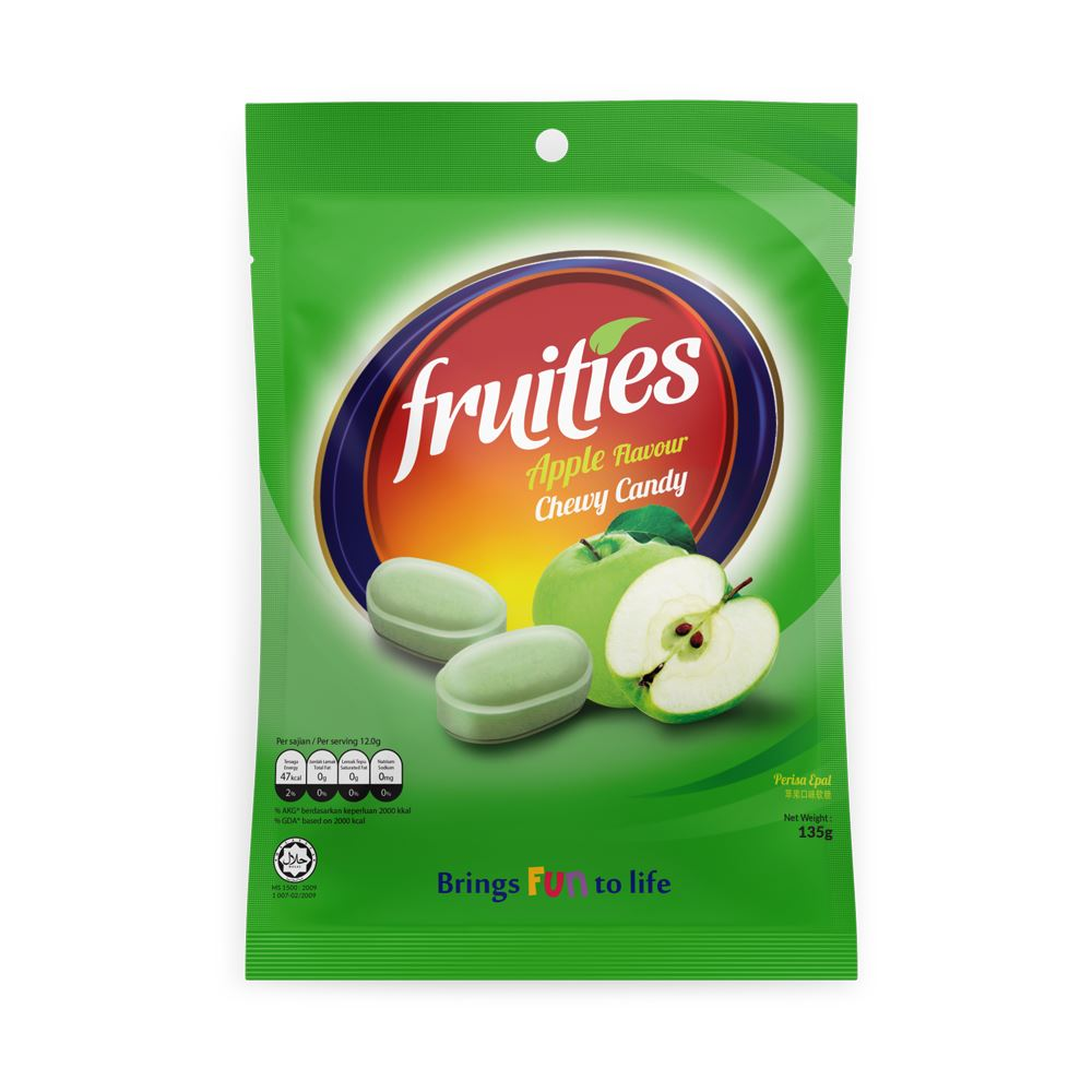 Fruities Apple Chewy Candy (135g)