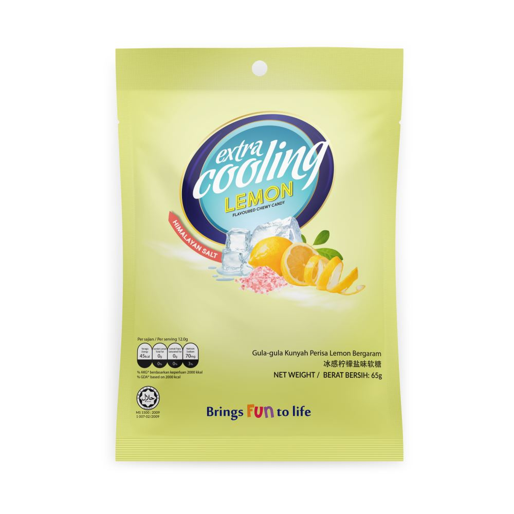 Extra Cooling Lemon Chewy Candy (65g)