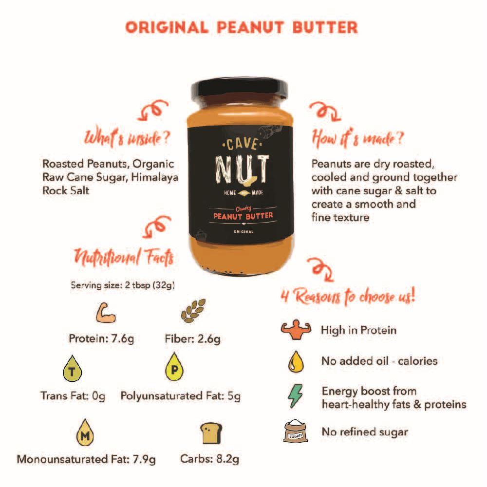 Peanut Butter Jar, Original Smooth
