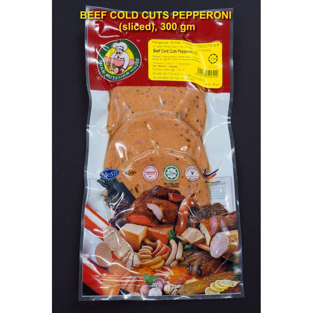 Beef Cold Cuts Pepperoni