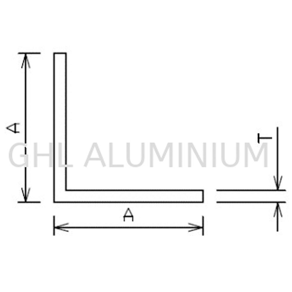 Aluminium Angle (Equal)