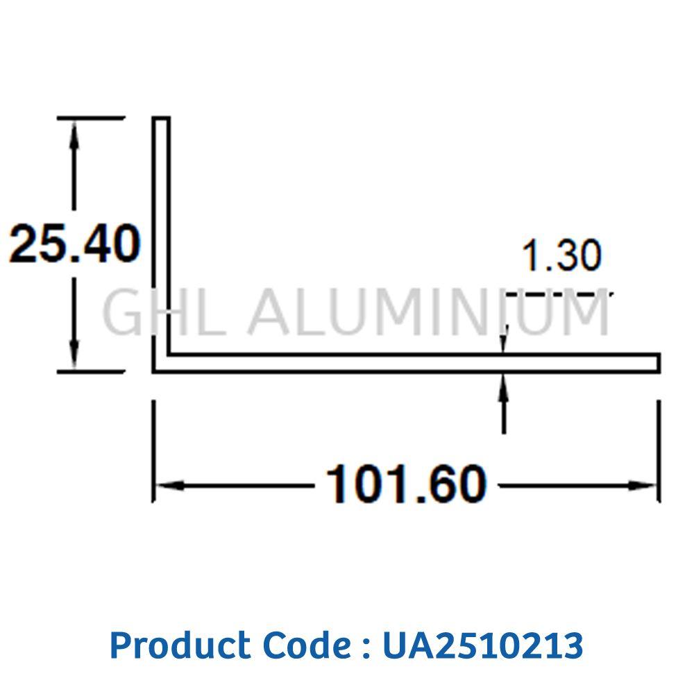 Aluminium Angle (Unequal)