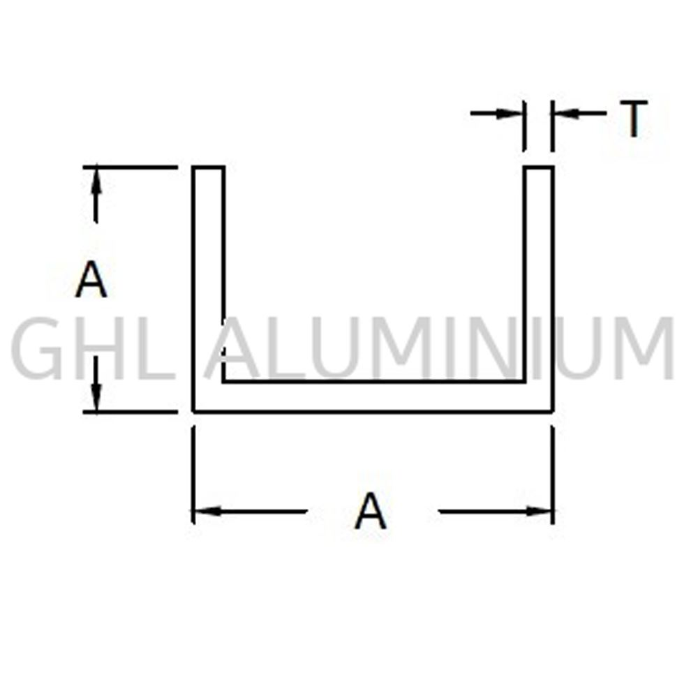 Aluminium Channel (Equal)