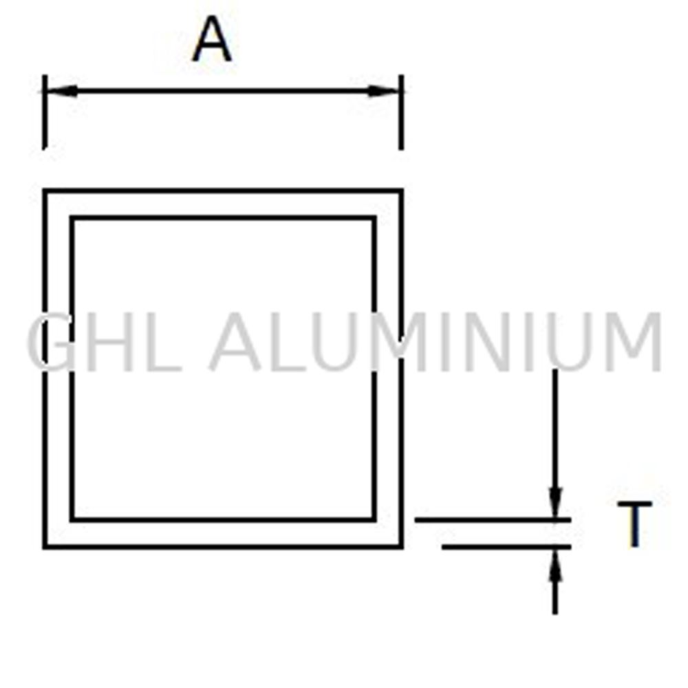 Aluminium Hollow (Square)