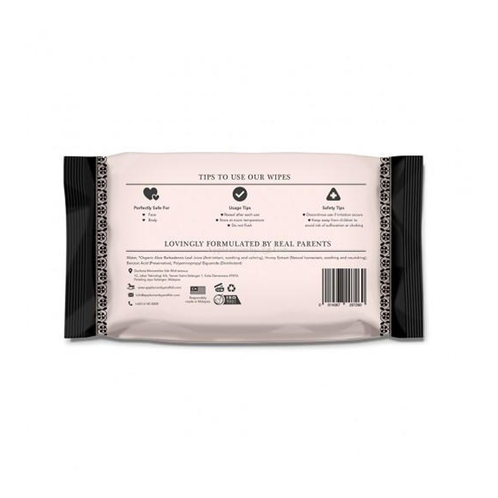 Applecrumby™ Extra Thick Premium Baby Wipes 80s (2 PACK BUNDLE)