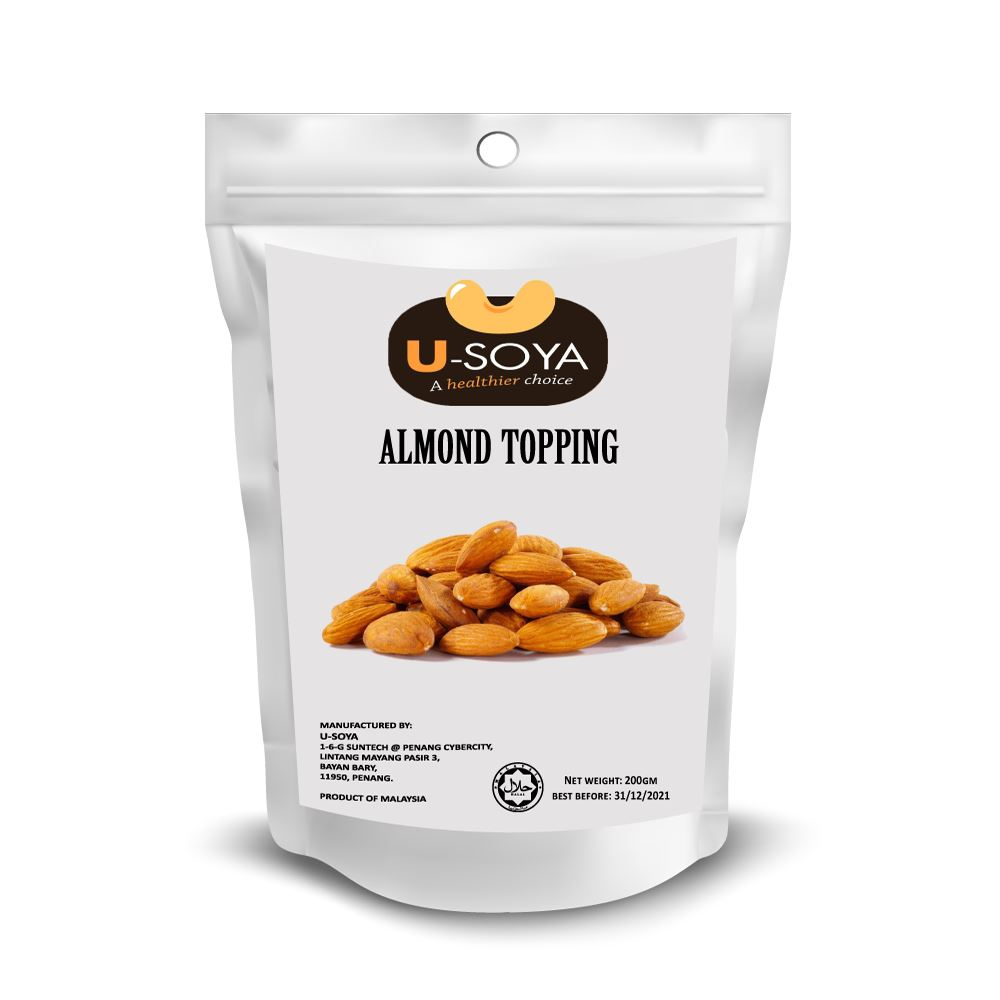 Almonds Topping