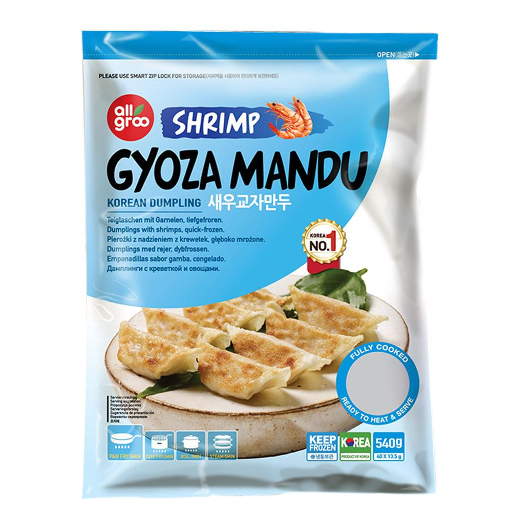 Allgroo Shrimp Gyoza Mandu