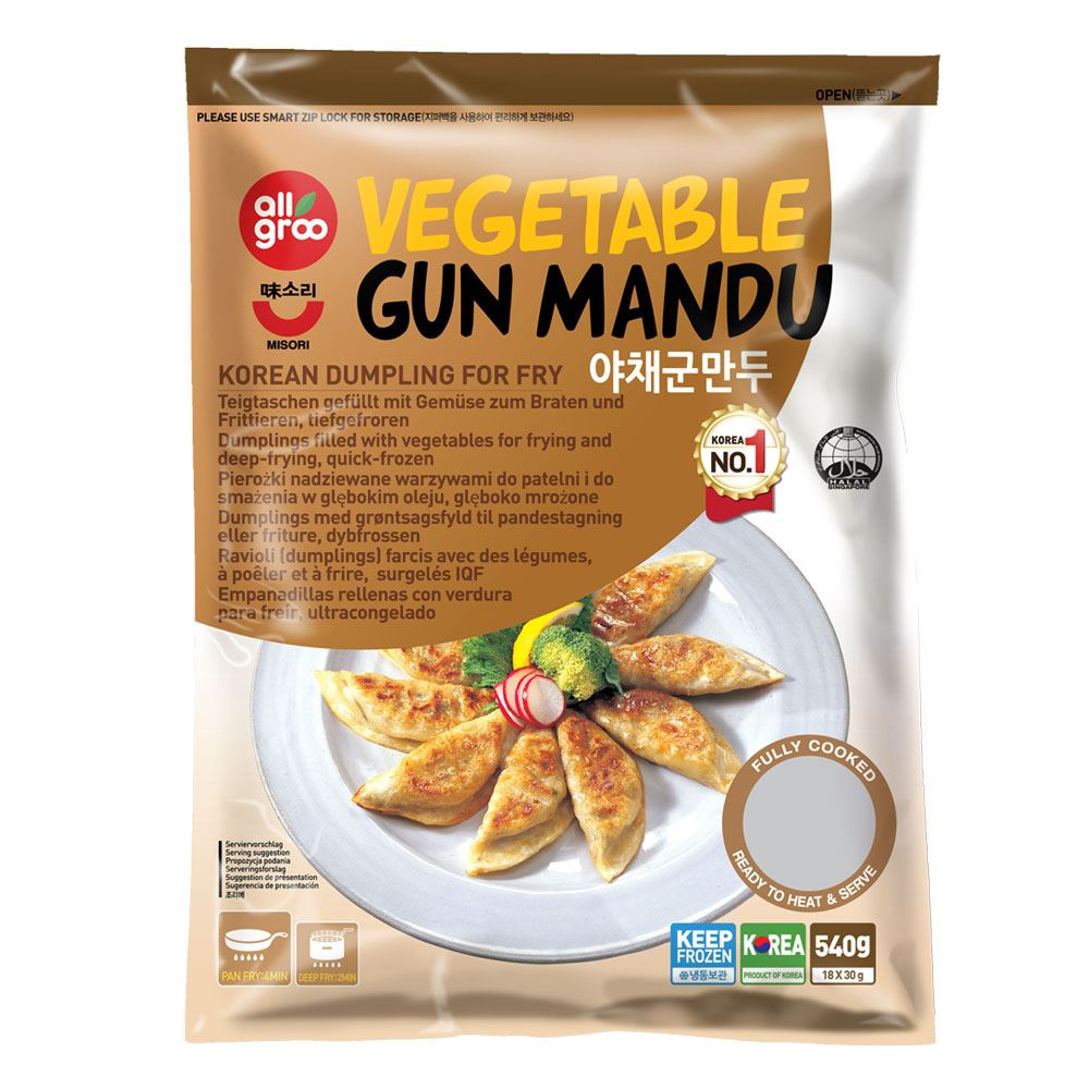 Allgroo Vegetable Gun Mandu (Dumpling for Fry)