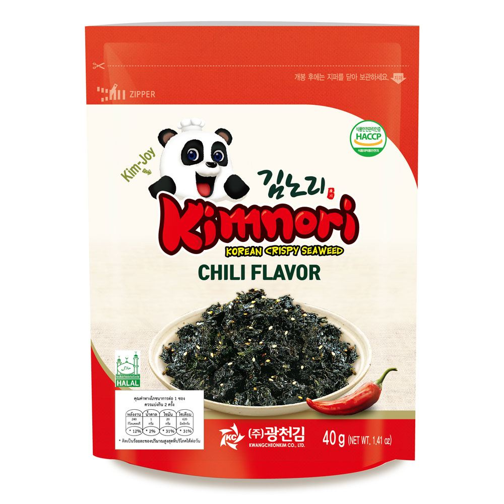 Kck Kimnori Chilli Flavor (Seasoned Seaweed Flakes)