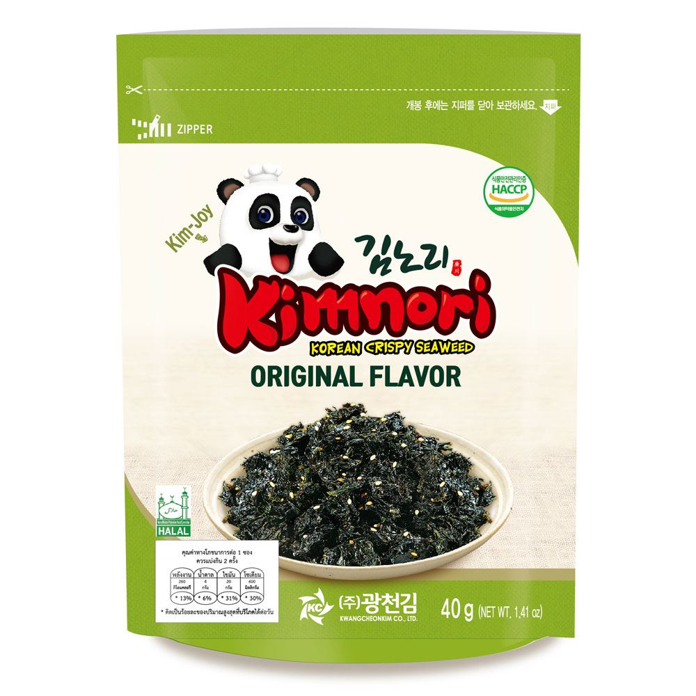 Kck Kimnori Original Flavor (Seasoned Seaweed Flakes)