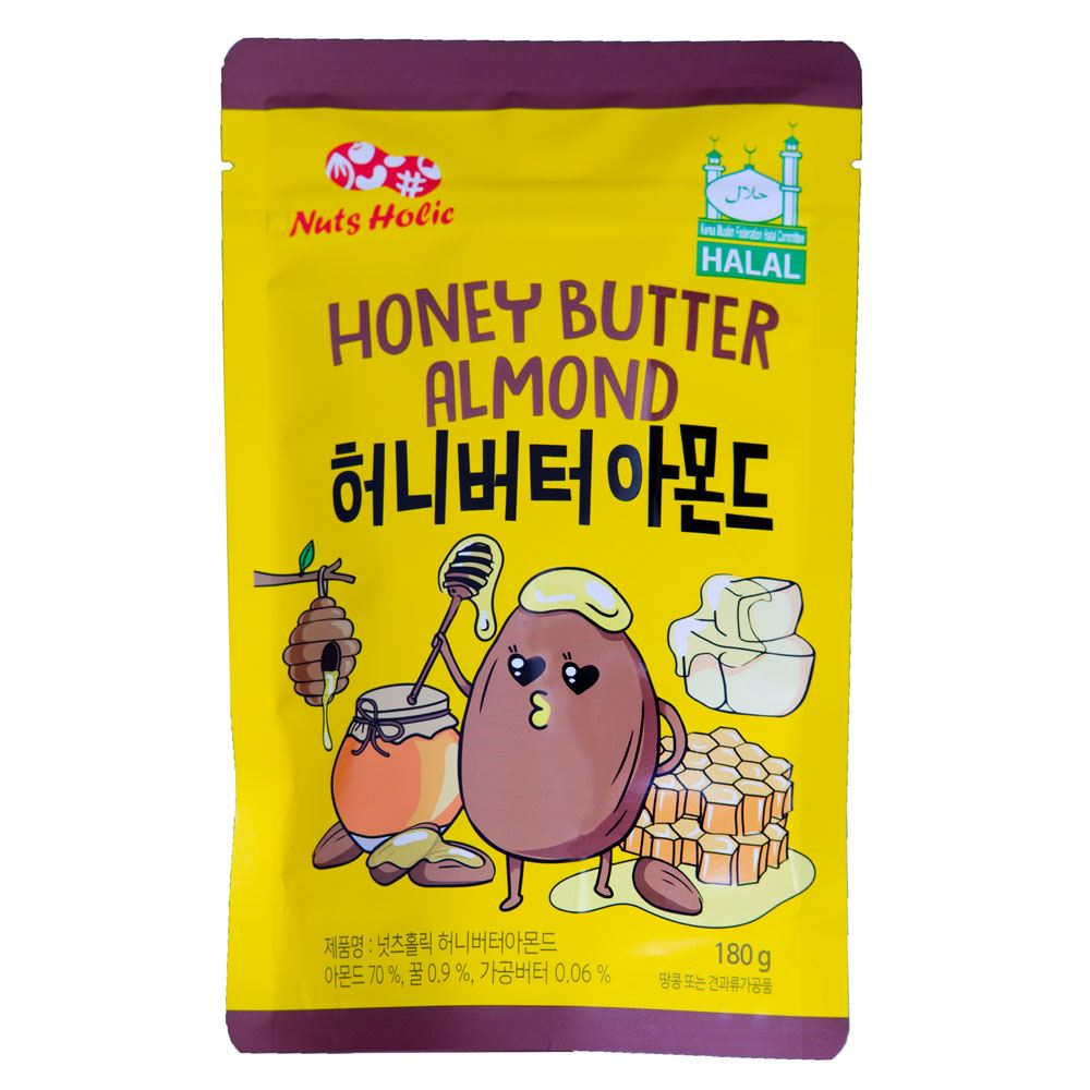 Nuts Holic Honey Butter Almond