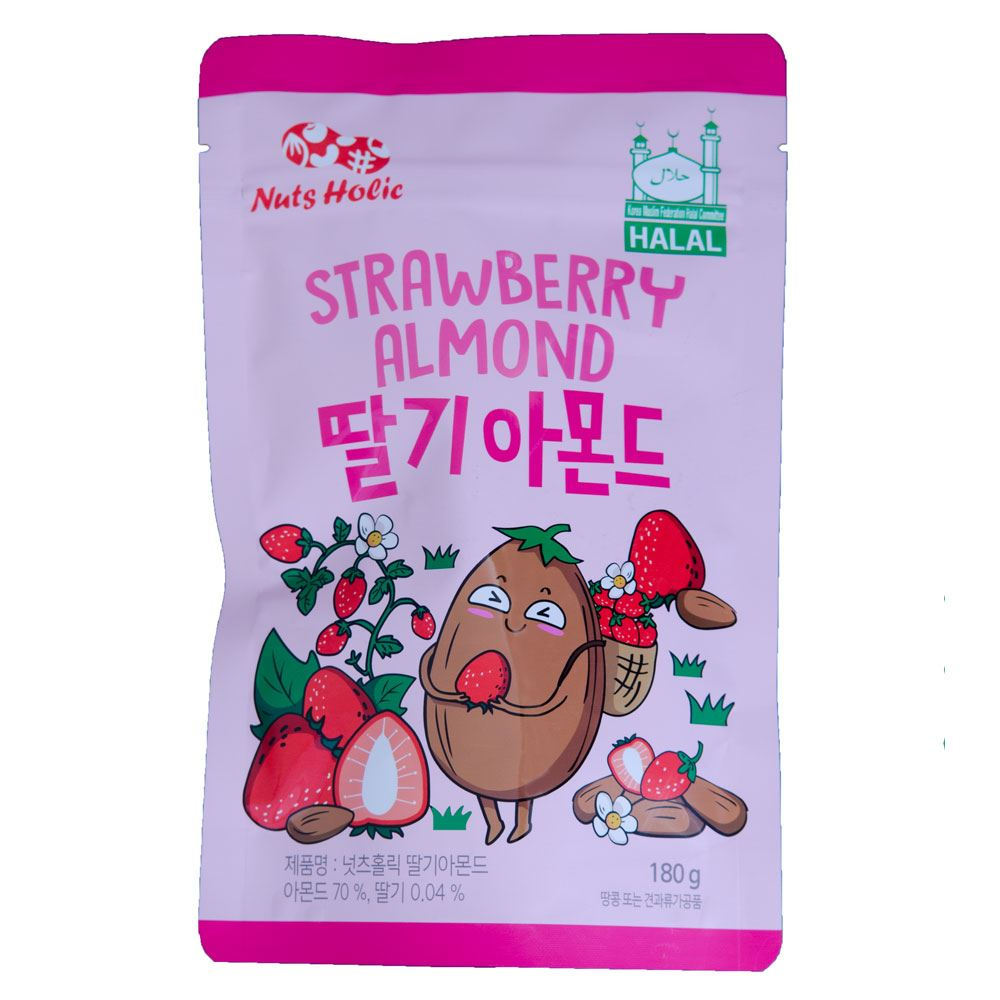 Nuts Holic Strawberry Milk Almond