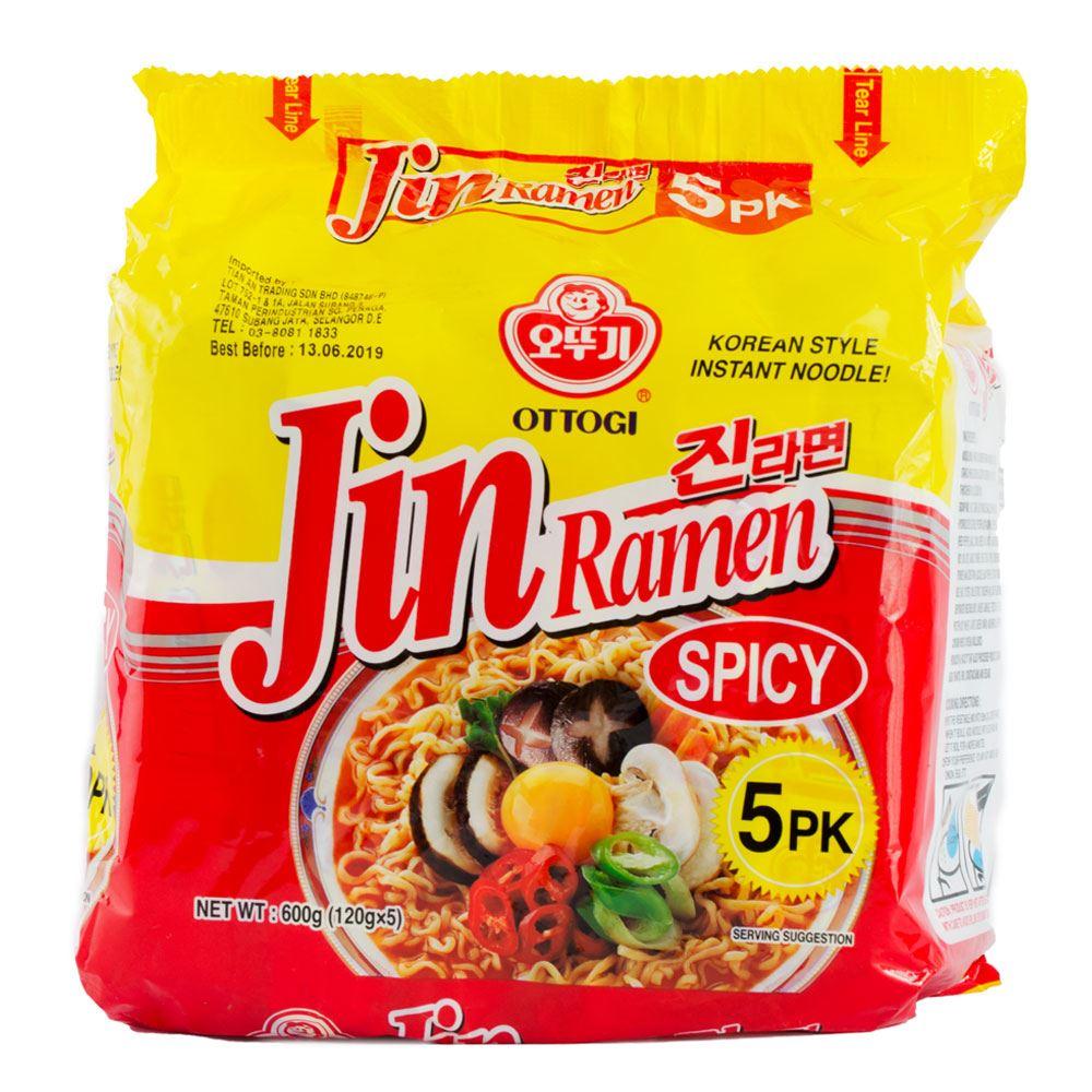 Ottogi Jin Ramen Hot Multipack